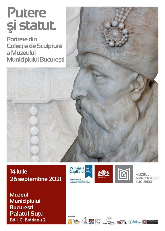 """""""Putere și statut"""", etalarea portretelor sculptate ale unor mari personalități istorice"""