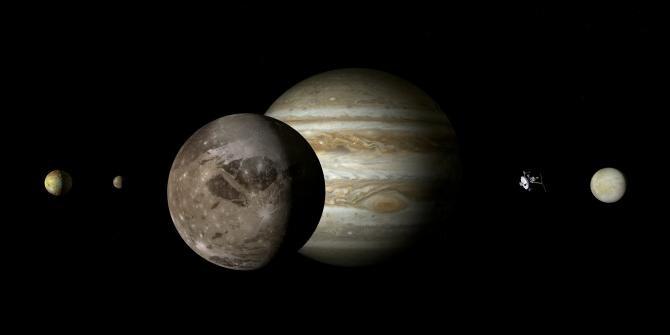Astronomii au detectat vapori de apă pe cel mai mare satelit din Sistemul Solar  /  Foto cu caracter ilustrativ: Pixabay