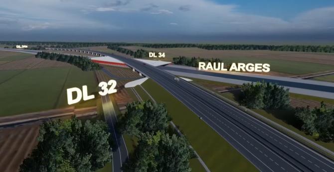 Autostrada Pitești - Curtea de Argeș, prezentată 3D. Cum arată proiectul  /  Sursă foto: Captură YouTube