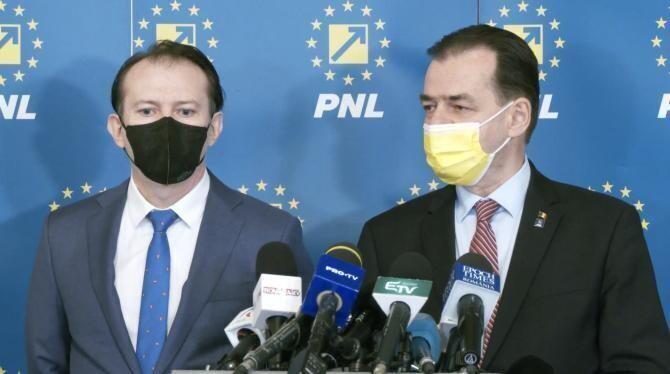 Florin Cîțu și Ludovic Orban / Foto PNL, arhivă