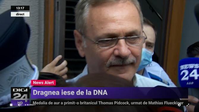 Dragnea a plecat de la DNA, prima declarație. Chirieac, despre măcelul dintre protestatari și susținători