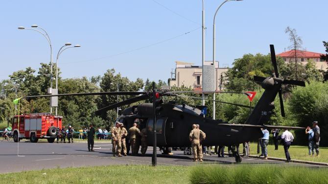 Elicopter cazut   Foto: Crișan Andreescu