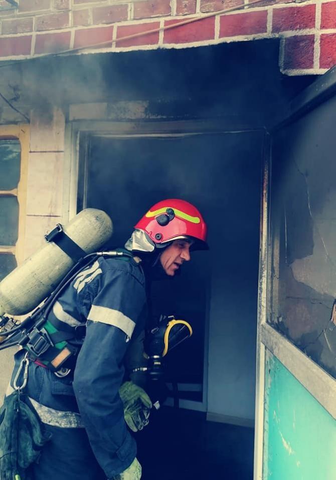 Explozie puternică în Dâmbovița / Foto cu caracter ilustrativ ISU Dâmbovița