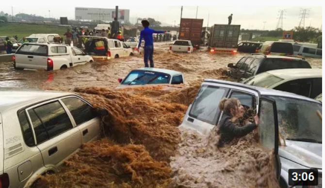 Germania se scufundă. Merkel: Adevărata amploare a dezastrului va fi cunoscută doar în zilele următoare / Captură Video Natural Calamities YouTube