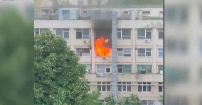 Incendiu la Spitalul de Copii Iași. A fost finalizată ancheta celor de la ISU / Foto: Captură video Realitatea Plus