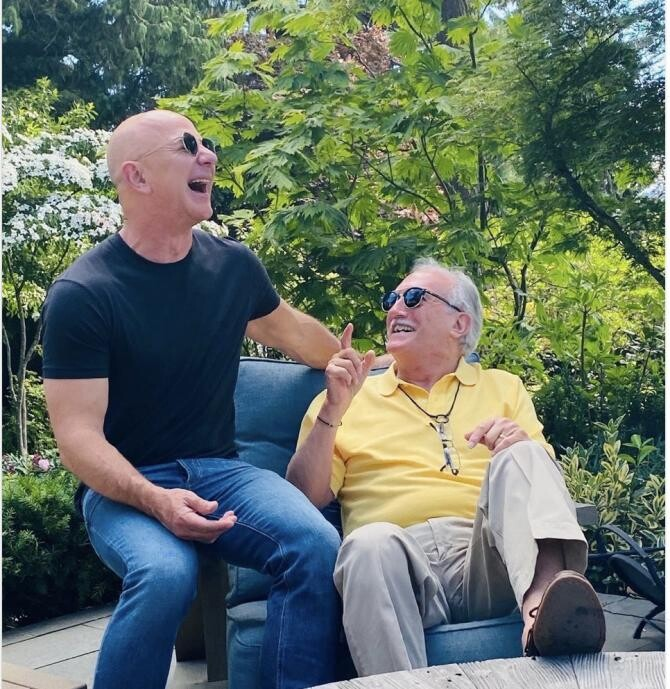 Jeff Bezos - foto Instagram