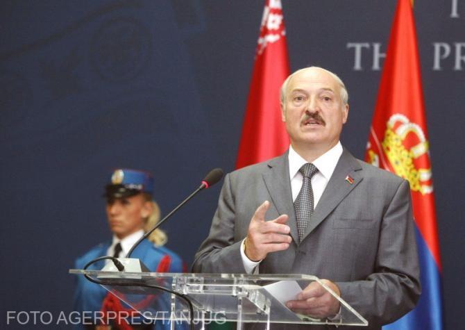 Alexandr Lukaşenko a ordonat închiderea frontierei dintre Belarus și Ucraina