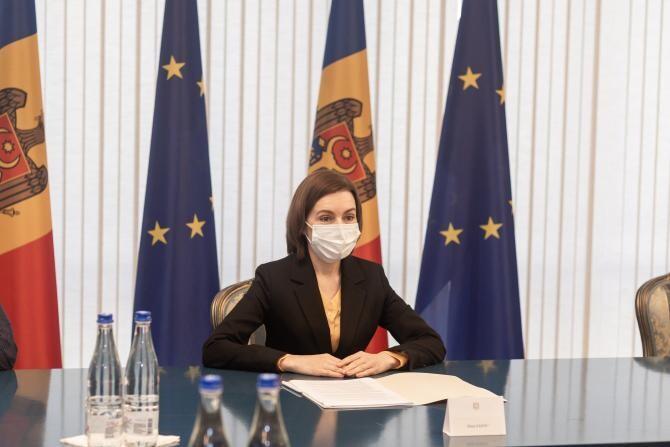 Maia Sandu a semnat decretul privitor la convocarea noului Parlament al Republicii Moldova. Când are loc prima ședință  /  Sursă foto: Facebook Maia Sandu