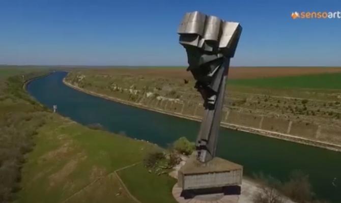Monument românesc unic în Europa, abandonat