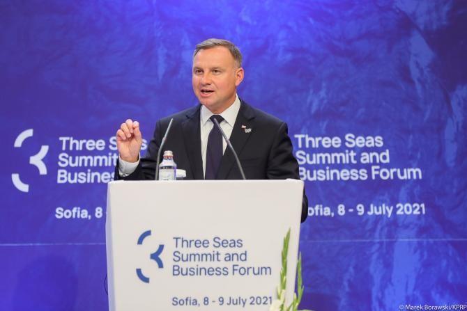 Președintele Poloniei: Acordul SUA-Germania pe Nord-Stream 2 slăbește securitatea europeană. E imperativ ca Polonia să fie independentă energetic  /  Sursă foto: Facebook Kancelaria Prezydenta RP