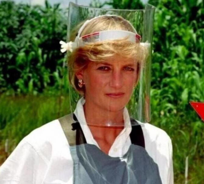 Prințesa Diana. Foto: Instagram Sussex Royal, arhivă