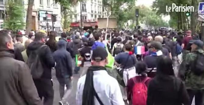 Proteste violente în Franța / Foto: Captură video Youtube