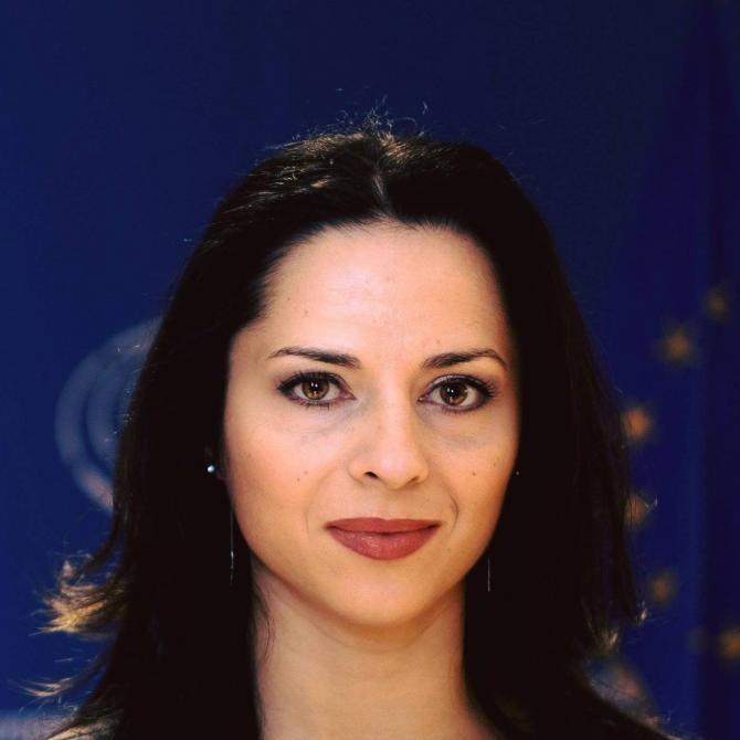 Ramona Strugariu și supa.