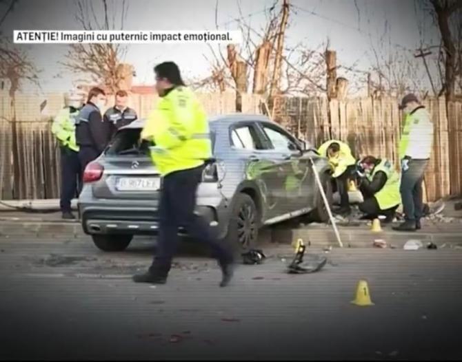 Șoferița care a UCIS două fete în cartierul Andronache din capitală, victorie în instanță / Foto: Captură video Realitatea Plus