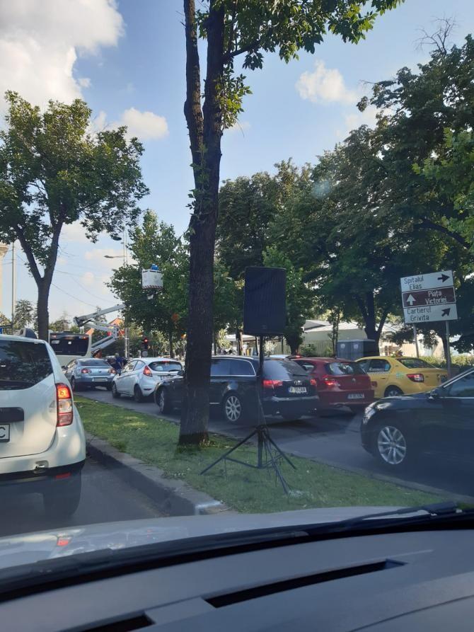 trafic în București