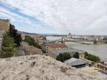 Vedere spre Podul cu Lanţuri din Budapesta, închis până în 2023 - FOTO Florin Răvdan