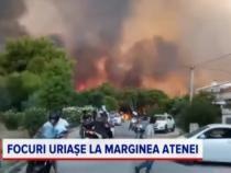 Grecia, devastată de incendii. Mărturia unei românce din Atena / Foto: Captură video PRO TV