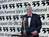 Sir Michael Caine și Globul de cristal   (Foto Servis Festival Karlovy Vary)
