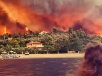 Grecia, devastată de fenomene extreme. MAE atenționează cetățenii români cu privire la riscuri  /  Captură VIDEO Facebook Greek Reporter