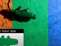 Robotul cameleon. Noua tehnologie de camuflare a cercetătorilor coreeni  /  Sursă foto: Captură YouTube