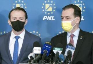 Cîțu și Orban / Foto PNL, arhivă