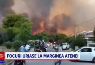 Grecia, devastată de incendii. Mărturia unei românce din Atena: Aerul era irespirabil, am crezut că murim cu uşile închise - VIDEO