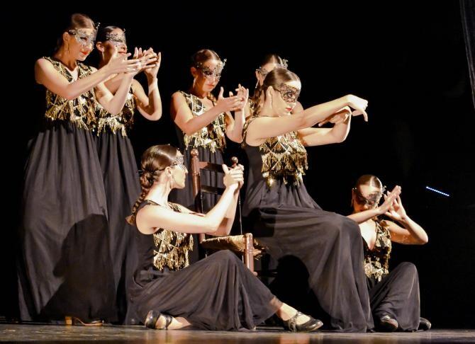 """Publicul FITS 20 """"Flacăra Nopții"""", al Companiei Barcelona Flamenco Ballet, prezentat în premieră mondială la Sibiu"""