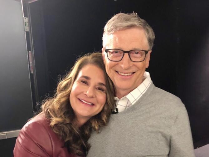 Sursă foto: Facebook Bill Gates, arhivă