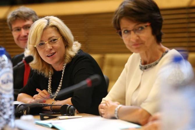 Colaborare Pro România - PSD în Parlamentul European. Crețu: Suntem ALIAȚI firești / Foto: Facebook Corina Crețu