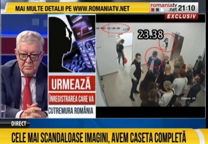 România TV: Dan Barna ar fi fost prezent în clădirea în care se numărau voturile de la S1  /   Sursă foto: Captură România TV