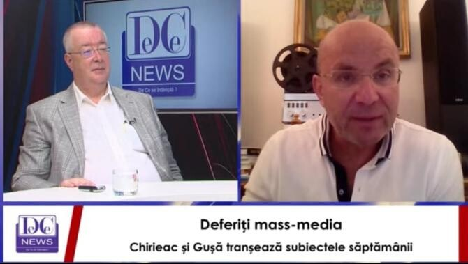 Gușă, mesaj-fulger către Chirieac: Nici în glumă nu intru în acest joc!/ Chirieac: Mi-e teamă! Ne paște pe toți