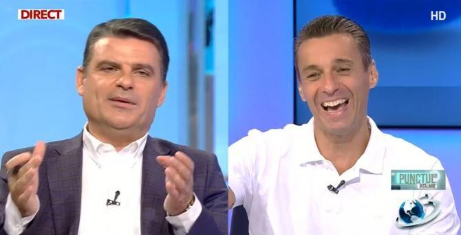 Radu Tudor și Mircea Badea