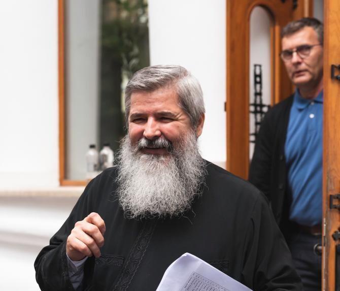 Preotul Vasile Ioana. Foto: Vlad Manolache
