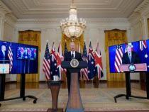 Joe Biden anunță semnarea pactului cu Marea Britanie și Australia