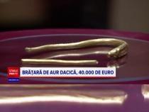 Un bărbat din Olt a găsit o brățară dacică din secolul I î.Hr. / Foto: Captură video PRO TV