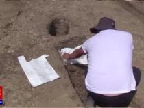 Descoperire arheologică importantă în Cluj / Foto: Captură video PRO TV