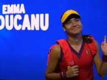 Emma Răducanu scrie istorie la US Open 2021. S-a calificat în marea finală / Captură Video US Open Tennis Championships YouTube