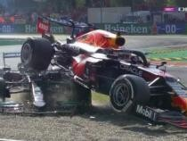 Hamilton, la un pas de moarte într-un accident la MP de la Monza. A fost salvat de sistemul de protecție Halo / Captură video Digi Sport 1