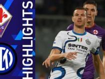 Inter, răsturnare de scor cu Fiorentina. Dzeko, 4 goluri în primele 5 meciuri disputate / Captură Video Serie A YouTube