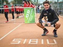 Marc-Andrea Huesler, campionul en-titre la Sibiu Open. Foto: organizatori