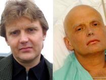 Foto: Alexandr Litvinenko în anul 2002 (stânga) și pe patul de spital, după otrăvirea cu poloniu (dreapta)