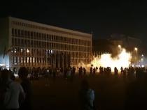 Slovenia: Proteste violente împotriva restricțiilor. Poliția a ripostat cu tunuri de apă și gaze lacrimogene   /   Sursă foto: Captură YouTube