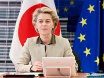 Ursula von der Leyen nu are programată o vizită în România pe 24 septembrie  /  Sursă foto: Facebook Ursula von der Leyen