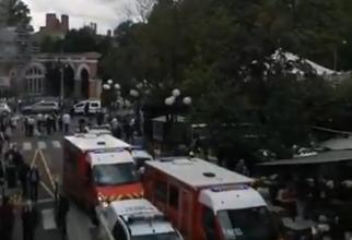 Șase răniți, după ce o mașină a intrat în terasa unei cafenele din Franța