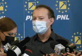 foto captură video/ Florin Cîțu, declarații
