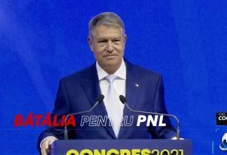 Iohannis, la Congresul PNL 2021: Sunt de neînțeles sabotajele venite din propriul partid