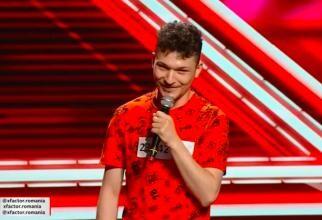 """Andrei Calancea, nevăzător, omagiu pentru tatăl său la X Factor. """"M-am născut cu un scop precis"""""""