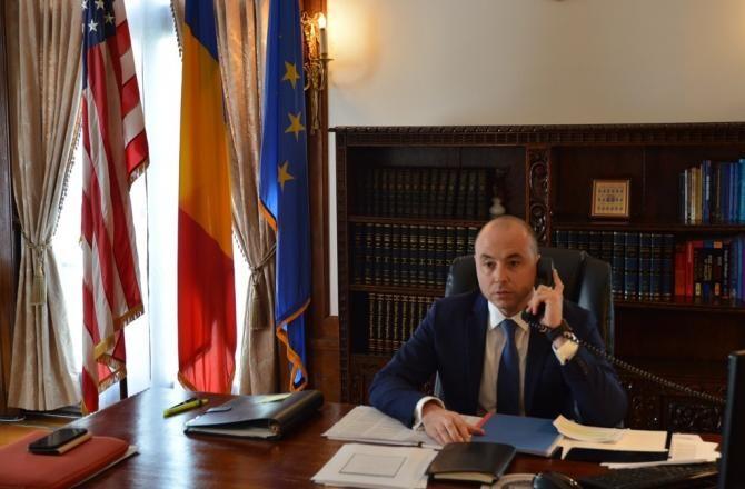 Andrei Muraru   Foto: Ambasada României  la Washington