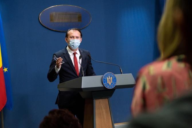 Chirieac, după ce CCR a spus că moțiunea USR PLUS trebuie dezbătută / Foto: Facebook Florin Cîțu