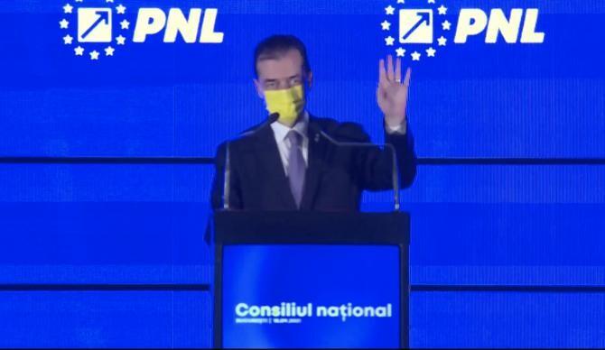 foto Consiliul Național al PNL/ Ludovic Orban
